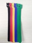 Kabelbinders klitteband 12x200 mm Mix (20 stuks 5 kleuren) 1 stuk