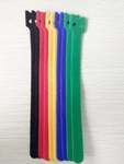 Kabelbinders klitteband 12x200 mm Geel (20 stuks) 1 stuk